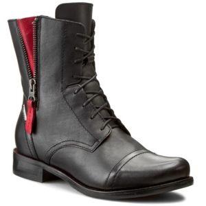 Šněrovací obuv Lasocki 70174-16 Přírodní kůže - lícová