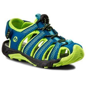 Sandály Walky CP44-5032 Textilní materiál,Ekologická kůže