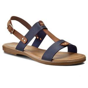 Sandály Via Ravia WS1807-2 Ekologická kůže