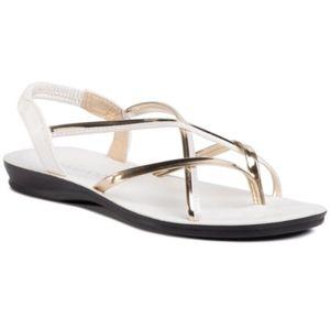 Sandály Bassano WS990-6 Textilní,Ekologická kůže