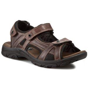 Sandály Lasocki for men MI20-MATEO-01 Textilní,Přírodní kůže - lícová
