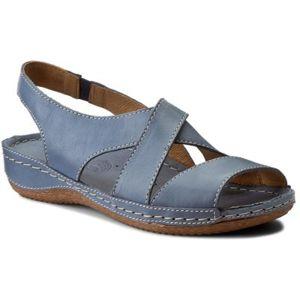 Sandály Lasocki Comfort 1938-01 Přírodní kůže - lícová