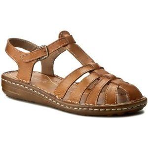 Sandály Lasocki D193 Přírodní kůže - lícová