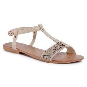 Sandály Bassano WP01-1702-01 Textilní,Ekologická kůže