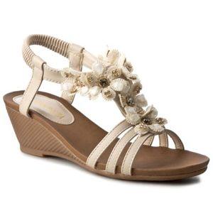 Sandály Via Ravia WSX506-3 Ekologická kůže
