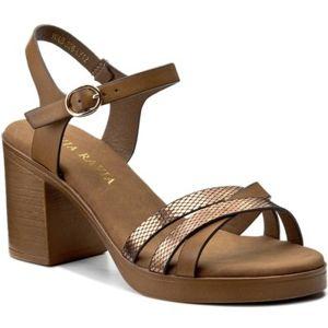 Sandály Via Ravia WAB-326-LY12 Ekologická kůže