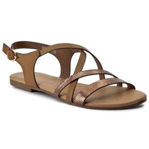 Sandály Via Ravia WAB-5541-LY58 Ekologická kůže