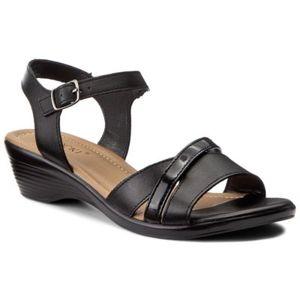 Sandály Lasocki RST-1390-03 Pravá kůže - lesklá kůže,Přírodní kůže - lícová