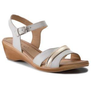 Sandály Lasocki RST-1390-03 Přírodní kůže - lícová