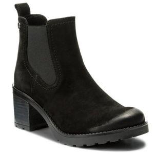 Kotníkové boty Lasocki 4381-01 Přírodní kůže - nubuk,Přírodní kůže - lícová