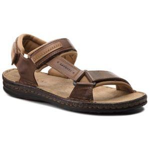 Sandály Lasocki for men MI18-1-28-381 Textilní,Přírodní kůže - lícová