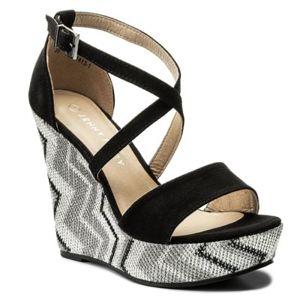 Sandály Jenny Fairy WYL1413-1 Textilní