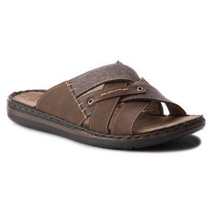 Pantofle Lanetti MS17015-3 Textilní,Ekologická kůže