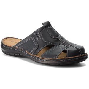 Pantofle Lanetti MSA426-2 Ekologická kůže