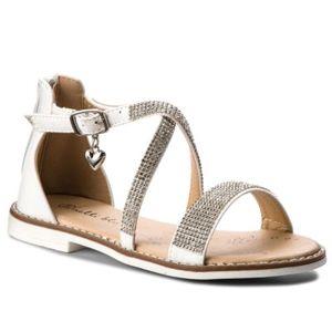 Sandály Nelli Blu CS1086-1 Ekologická kůže