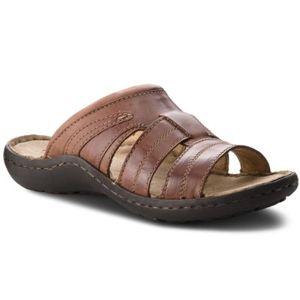 Pantofle Lasocki for men MI18-430 Přírodní kůže - nubuk,Přírodní kůže - lícová