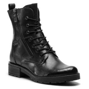 Šněrovací obuv Lasocki WI16-DANA-04 Přírodní kůže (useň) - Lícová