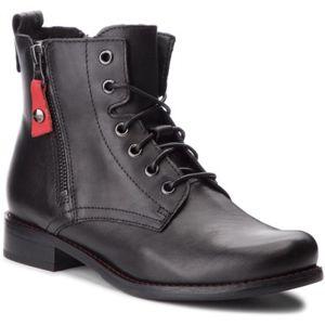Šněrovací obuv Lasocki 70174-11 Přírodní kůže (useň) - Lícová