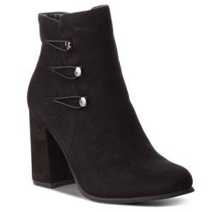 Kotníkové boty Jenny Fairy WYL102708-1 Látka/-Látka