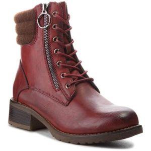 Šněrovací obuv Jenny Fairy WS16357-10 Plst,Ekologická kůže