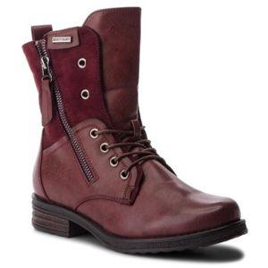 Šněrovací obuv Jenny Fairy WS2702-01 Ekologická kůže /-Ekologická kůže