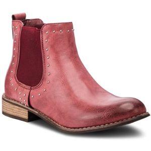 Kotníkové boty Jenny Fairy WS1250-06 Ekologická kůže
