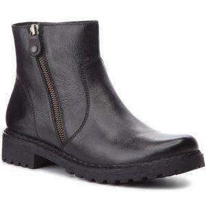 Kotníkové boty Lasocki WI23-ZULA-05 Přírodní kůže (useň) - Lícová