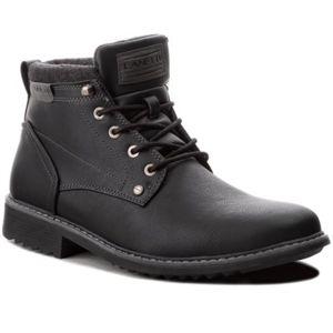 Šněrovací obuv Lanetti MP07-16860-03 Ekologická kůže /-Ekologická kůže
