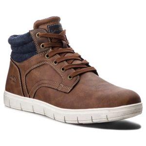 Šněrovací obuv Lanetti MP07-17175-01 Ekologická kůže /-Ekologická kůže