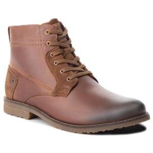 Šněrovací obuv Lasocki for men MI08-C307-250-05 Přírodní kůže - semiš,Přírodní kůže - lícová