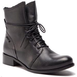 Šněrovací obuv Lasocki 60724-02BIG Přírodní kůže (useň) - Lícová