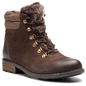 Šněrovací obuv Lasocki WI16-VIVA-08BIG Přírodní kůže (useň) - Semiš