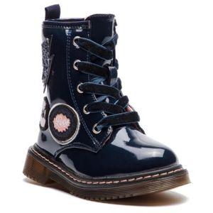 Šněrovací obuv Nelli Blu CS102607-03 Ekologická kůže