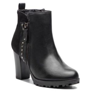Kotníkové boty Jenny Fairy WS16002-6 Ekologická kůže /-Ekologická kůže