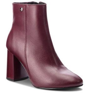 Kotníkové boty Lasocki TOP-82 Přírodní kůže (useň) - Lícová