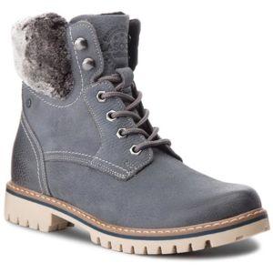 Šněrovací obuv Lasocki Young GI12-ASTERIX-11F Přírodní kůže - nubuk,Textilní,Přírodní kůže - lícová