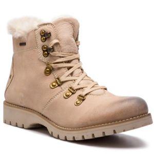 Šněrovací obuv Lasocki WI16-218169 Přírodní kůže (useň) - Nubuk