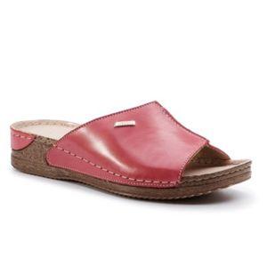 Pantofle Lasocki 2128-07 Přírodní kůže - lícová