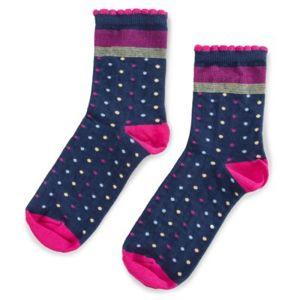 Ponožky Nelli Blu 22L1B800 r.34-38 Polyamid,Bavlna