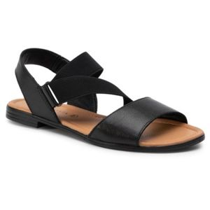 Sandály Via Ravia TTT-ARENA-05 Textilní materiál,Přírodní kůže - lícová