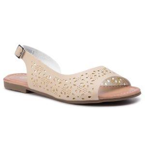 Sandály Bassano WS3268-3 Ekologická kůže