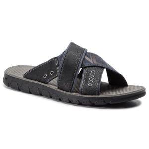 Pantofle Lanetti MS197129-3 Textilní materiál,Ekologická kůže