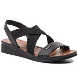 Sandály Lasocki EST-2052-01 Textilní,Přírodní kůže - lícová