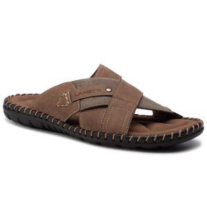 Pantofle Lanetti MS17013-3 Textilní,Ekologická kůže