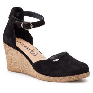 Sandály Lasocki 2188-02 Přírodní kůže - semiš