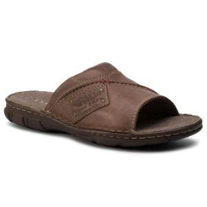 Pantofle Lasocki for men MI08-C271-320-11 Přírodní kůže - lícová