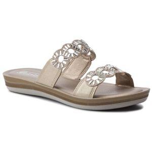 Pantofle INBLU BAAJOO02 Ekologická kůže