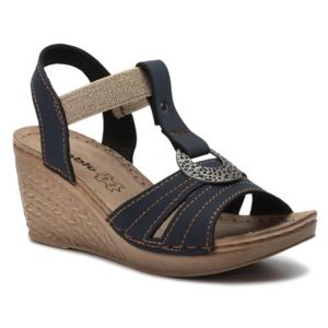 Sandály INBLU OC02AQ05 Textilní,Ekologická kůže
