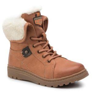 Šněrovací obuv Lasocki Kids CI12-2949-03 Přírodní kůže - nubuk,Textilní materiál,Přírodní kůže - lícová