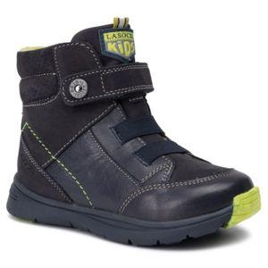 Šněrovací obuv Lasocki Kids CI12-SLIDE-01 Přírodní kůže (useň) - Nubuk